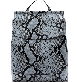Pjee Handbags Python Convertible Backpack