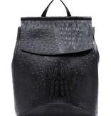 Pjee Handbags Croco Convertible Backpack