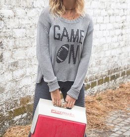Wooden Ships Game On Crew Sweater Nickel