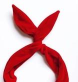 Byrd Byrd Headband-Red Velvet