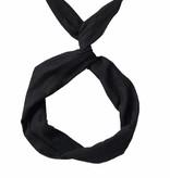 Byrd Byrd Headband-Black Linen
