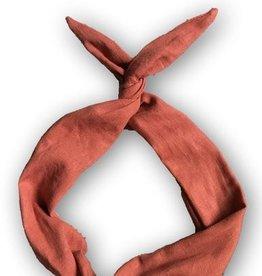 Byrd Byrd Headband - Rust Linen