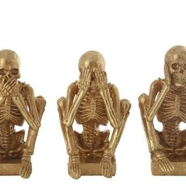 Creative Co-Op Skeleton Hear No See No Speak No Evil Set