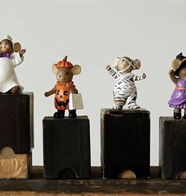 Creative Co-Op Set of Mice in Costume