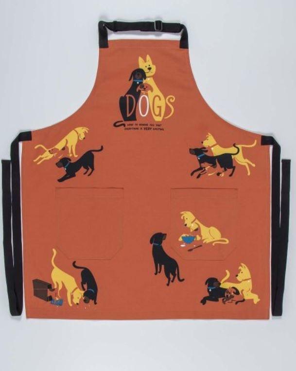 Blue Q Dogs APron
