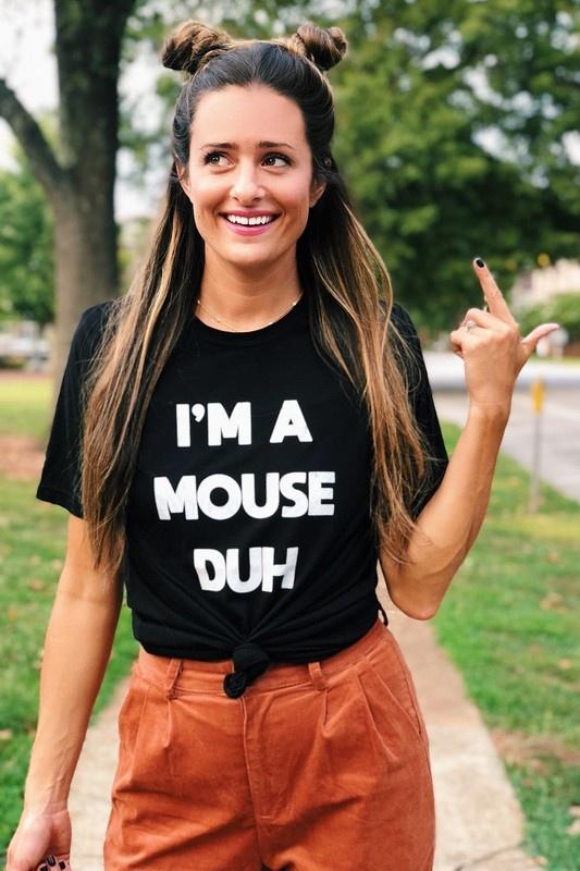 Vintage Soul I'm A Mouse, Duh Tee