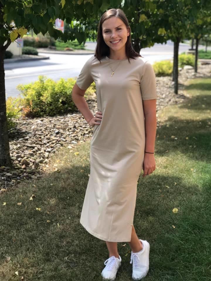 Mod Ref Dani Dress Taupe