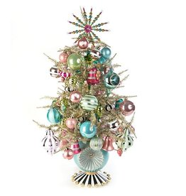 MacKenzie-Childs Home Sweet Snow Tabletop Tree