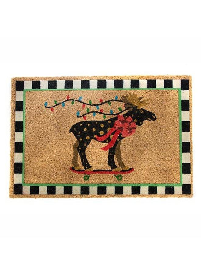 Moose On Parade Entrance Mat