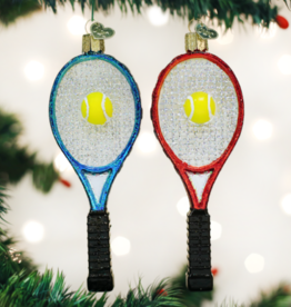 Old World Christmas Tennis Racquet Ornament