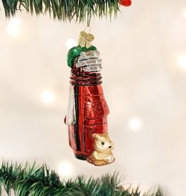 Old World Christmas Golf Bag Ornament