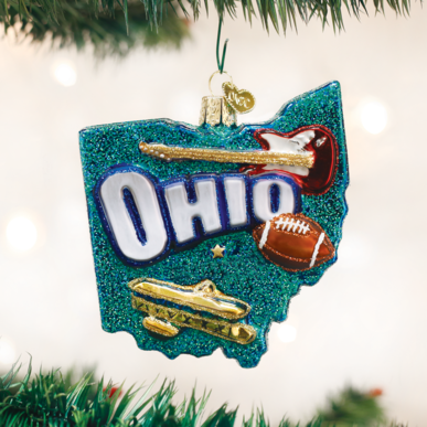 Old World Christmas State Of Ohio Ornament
