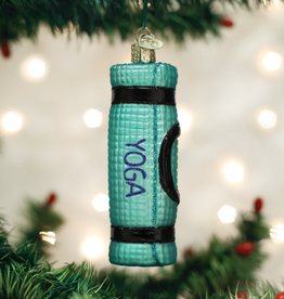 Old World Christmas Yoga Mat Ornament