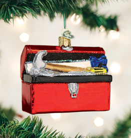 Old World Christmas Toolbox Ornament