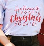 Vintage Soul Hallmark Movies and Christmas Cookies V-Neck