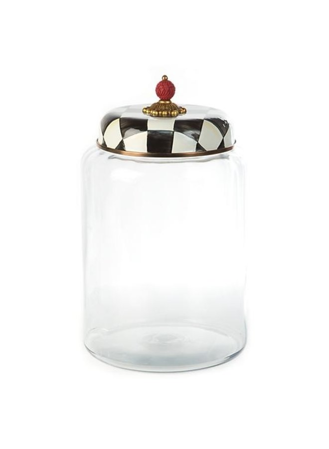 Courtly Check Storage Canister-Biggest