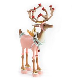 MacKenzie-Childs Patience Brewster Dash Away Cupid Reindeer