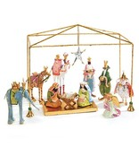 MacKenzie-Childs Patience Brewster Nativity Mini Figures Introductory Set
