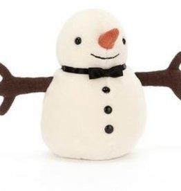 Jellycat JOlly Snowman Bow Tie