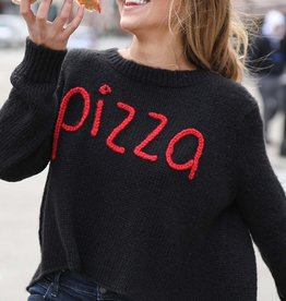 Wooden Ships Pizza Sweater