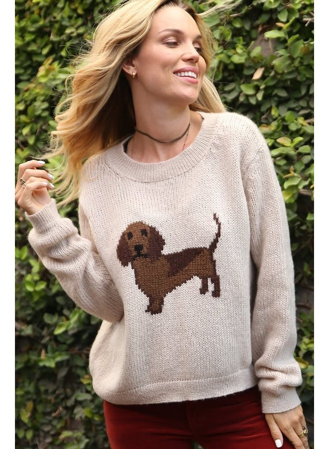 Hot Dog Pullover Sweater