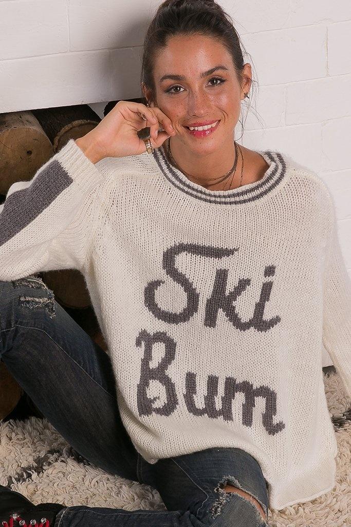 Wooden Ships Retro Ski Bum Sweater