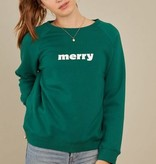 South Parade Merry Sweatshirt- Green