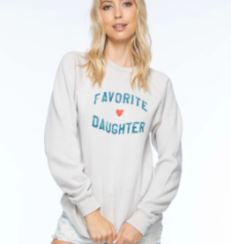 Sub Urban Riot Favorite Daughter Raglan Sweatshirt