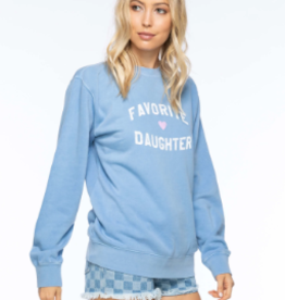 Sub Urban Riot Favorite Daughter Crew Sweatshirt