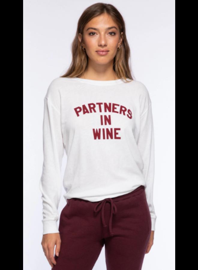 Partners In Wine Camp Tee