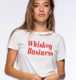 Sub Urban Riot Whiskey Business Poppy Tee