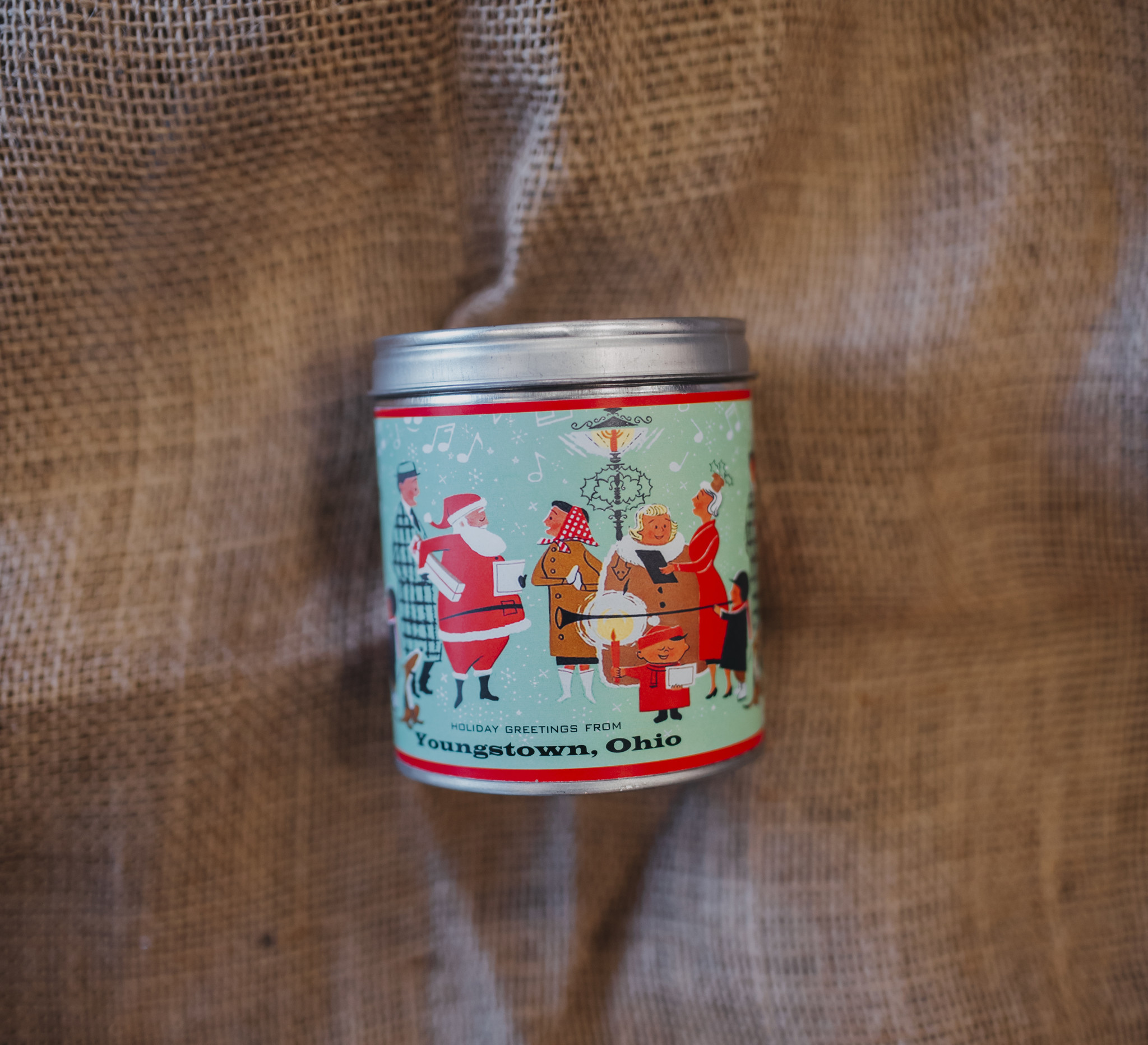 Aunt Sadie's Yougstown Vintage Holiday Scene Candle