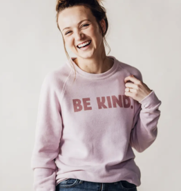 August Ink Be Kind Fleece Sweatshirt