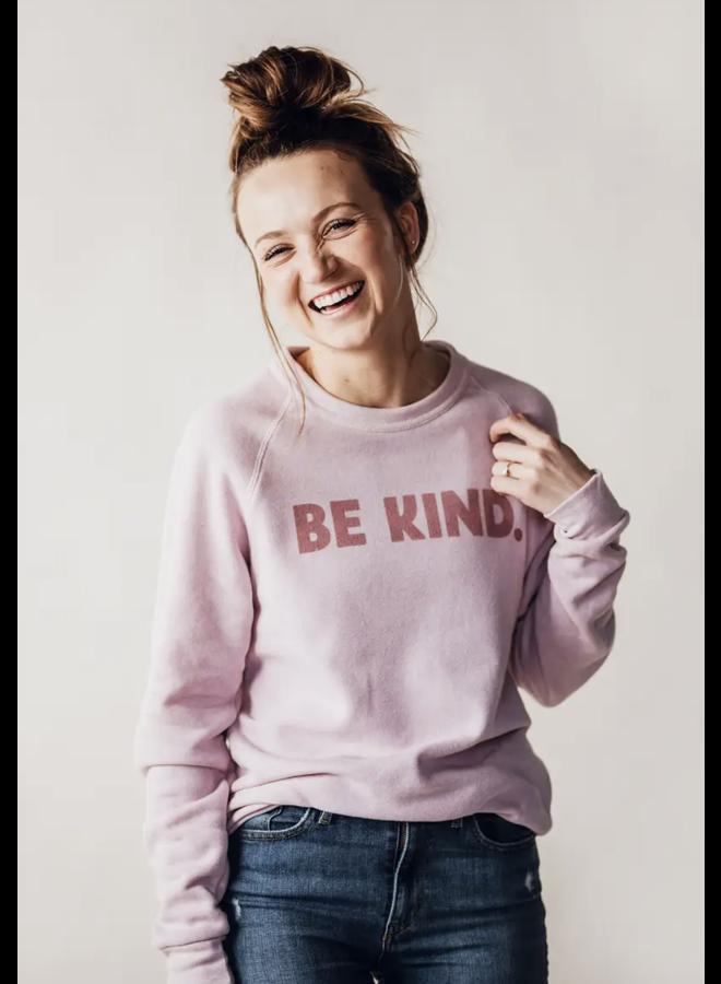 Be Kind Fleece Sweatshirt