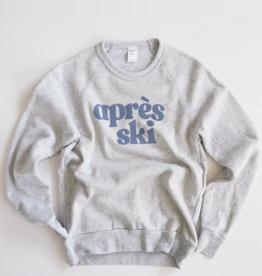 August Ink Apres Ski Fleece Sweatshirt