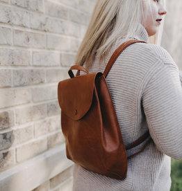 Pjee Handbags The Mini Coco Convertible Backpack-Coffee