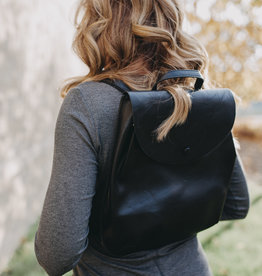 Pjee Handbags The Mini Coco Convertible Backpack-Black