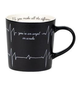 Say What You're An Angel In Scrubs Mug