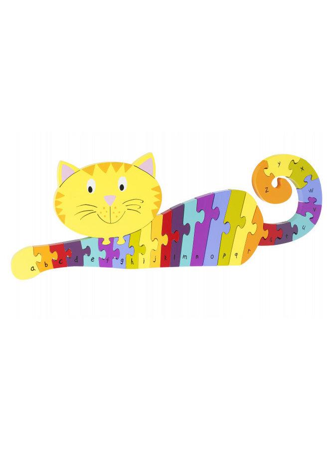 Alphabet Cat Puzzle