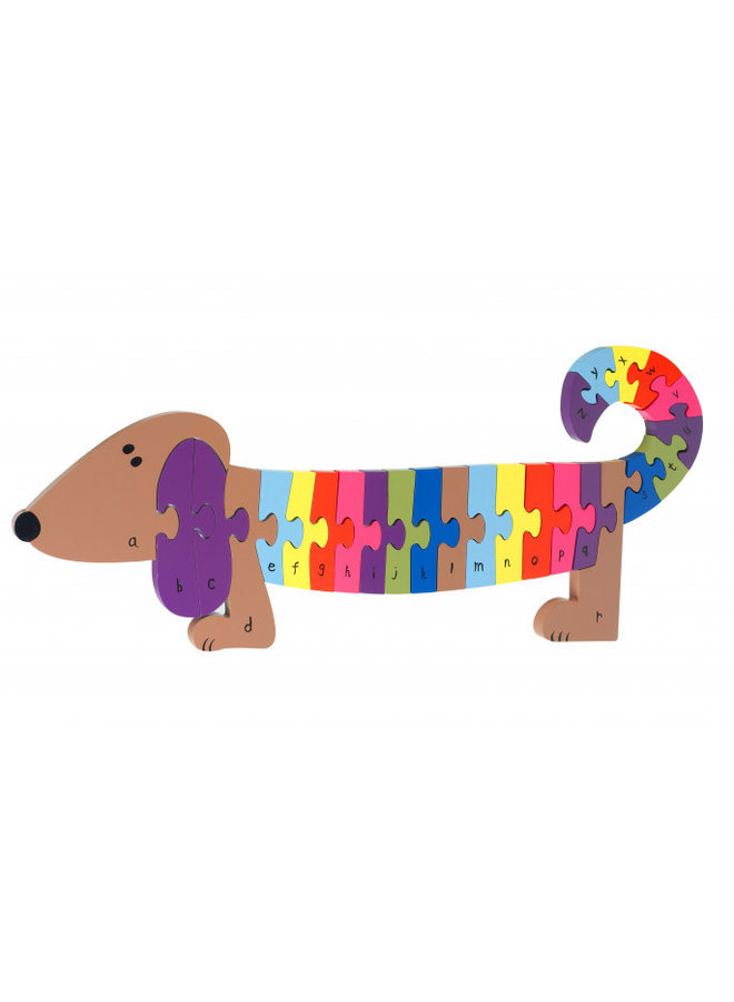 Alphabet Dog Puzzle