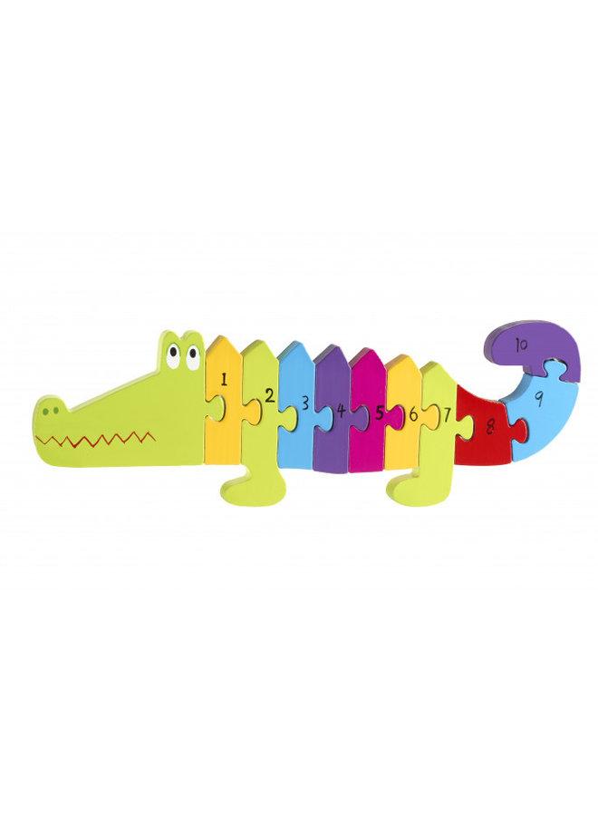 Crocodile Number Puzzle