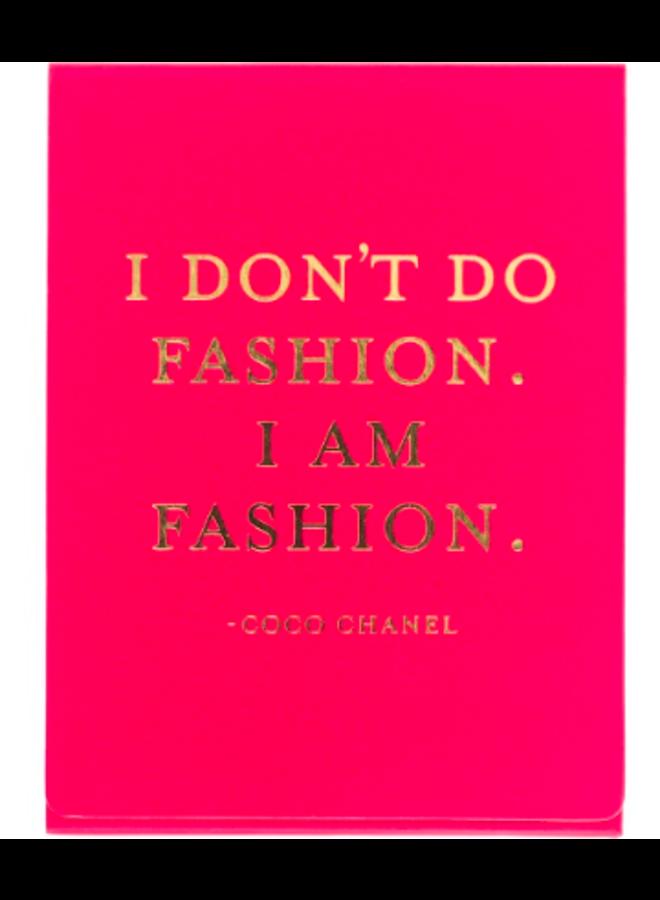 Pocket Note - I Am Fashion