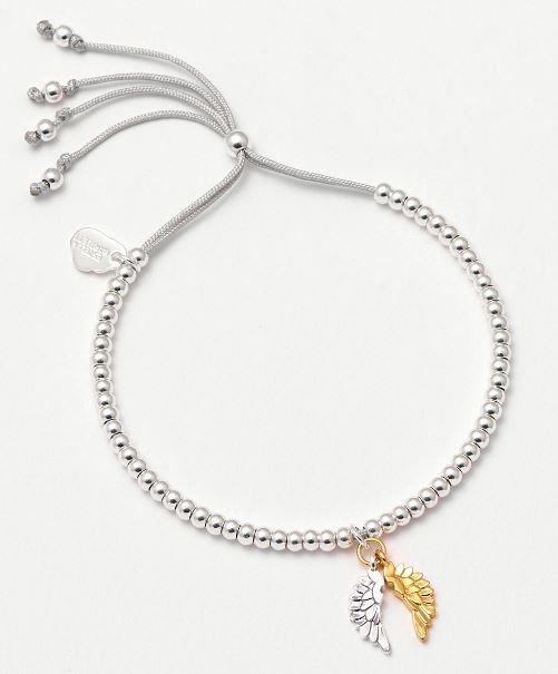 Estella Bartlett Liberty Bracelet Wings Charm