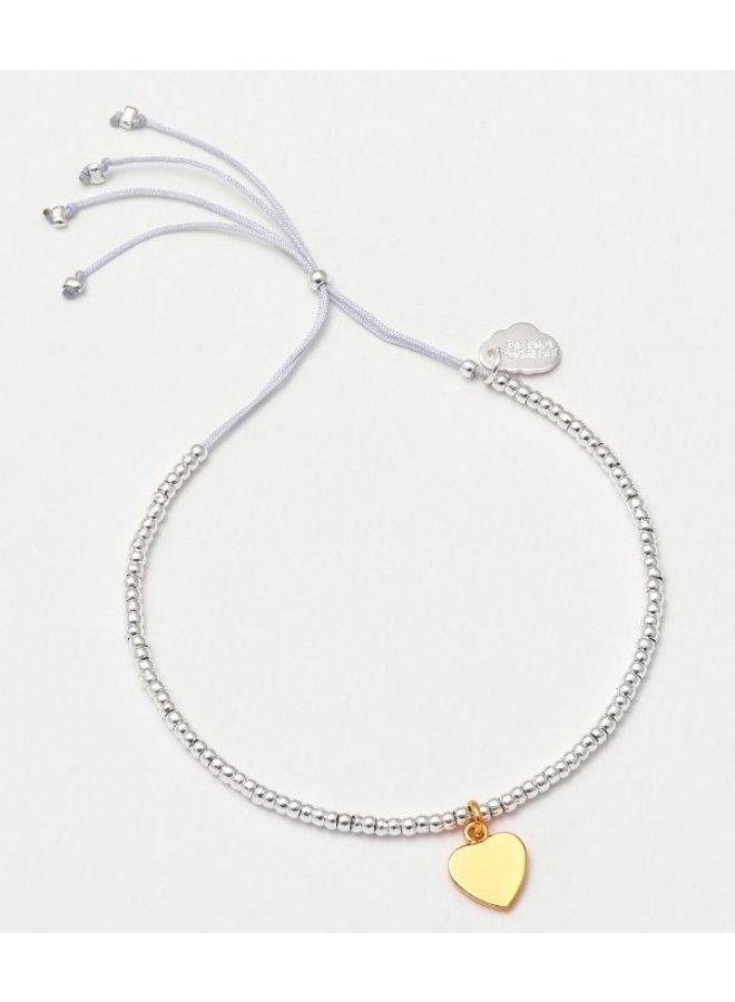 Louise Bracelet Gold Heart
