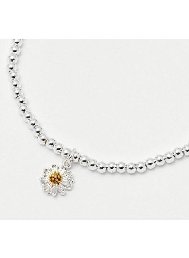 Sienna Wildflower Silver Bracelet