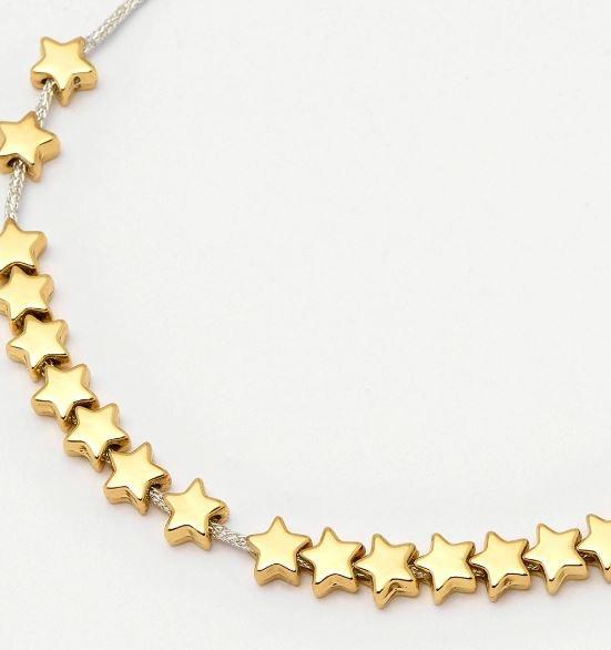 Estella Bartlett Gold Stars So Bright Bracelet