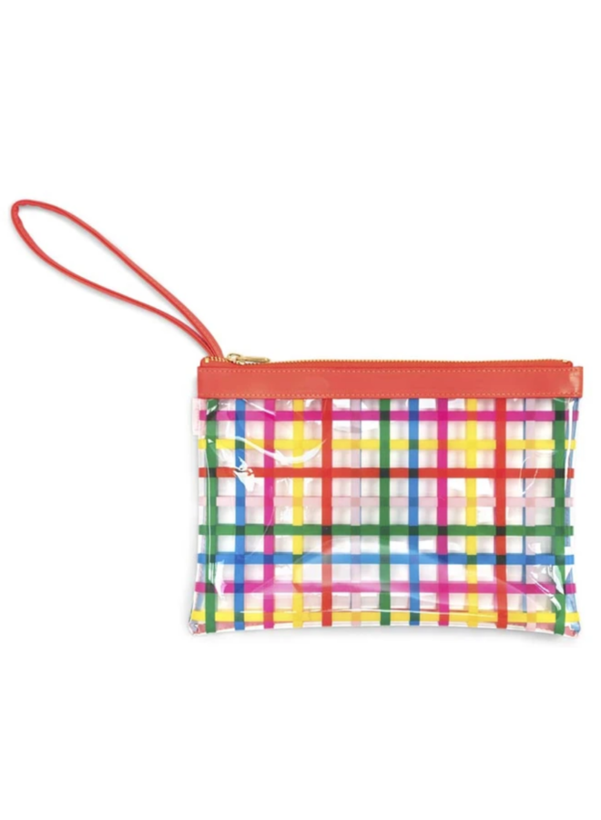 Get It TOgether Wristlet Pouch- Block Party