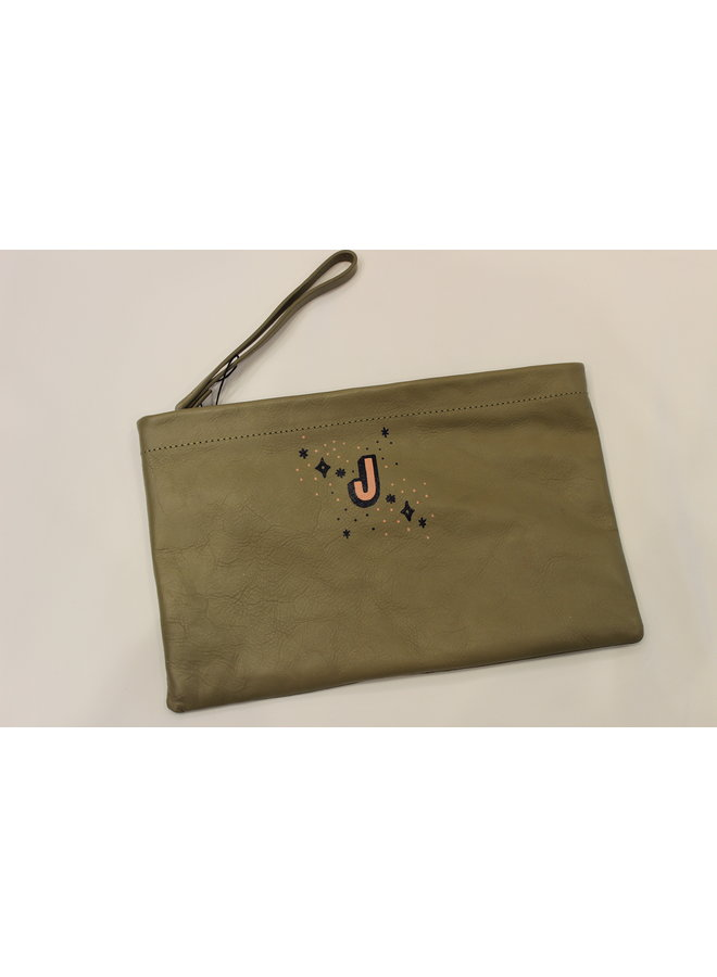 Lauren Schneider Annie Clutch (Tier 2) Tan J