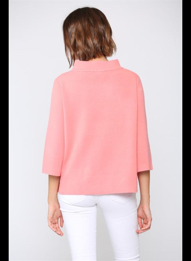 Jamie Bell Sleeve Sweater -