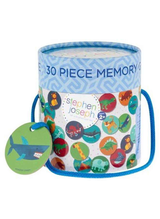 30 Piece Memory Game Set - Boy